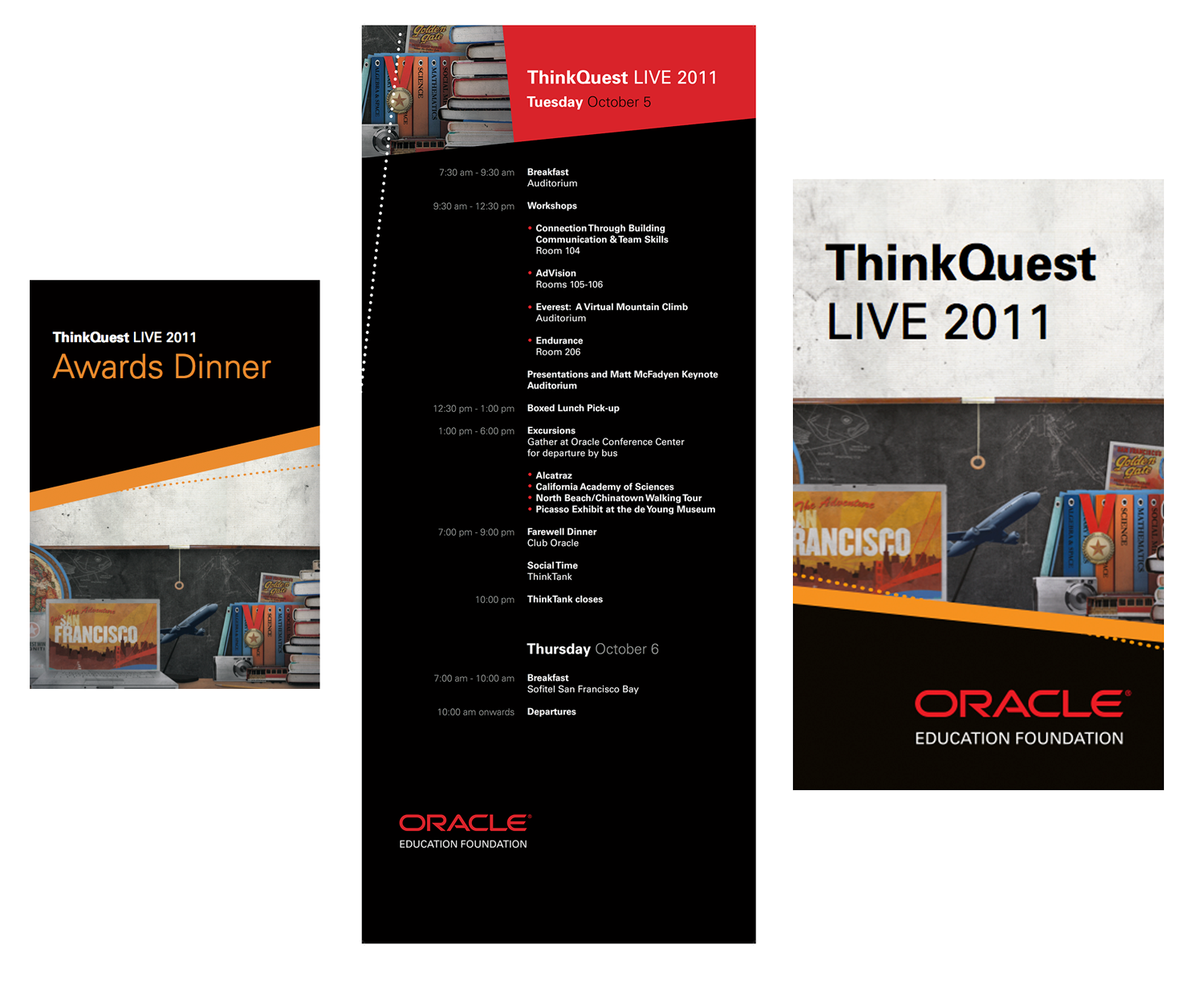 ThinkQuest Live 2011 promotional materials